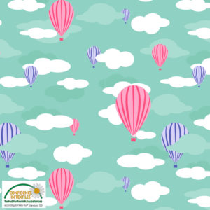 Stof of Denmark Avalana Jersey – Balloons in the Clouds