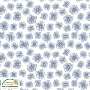 Stof of Denmark Avalana Jersey – Little Blue Sea Urchins