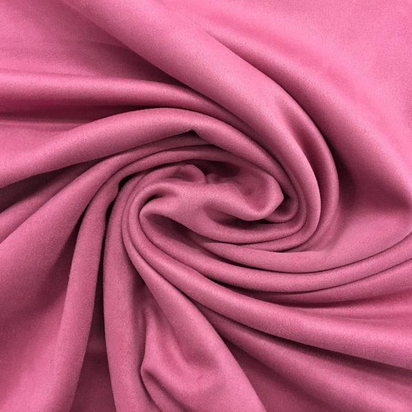Scuba Suede Stretch Jersey Knit - Pink