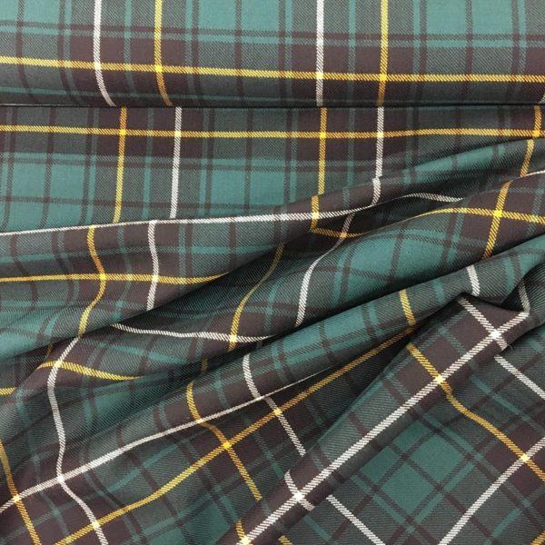 100% Pure Wool Plaid - MacAlpine, Modern