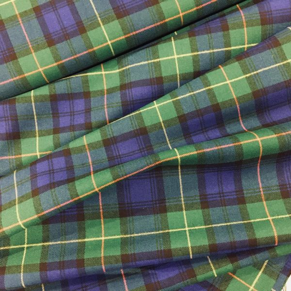 100% Pure Wool Plaid - Farquharson, Ancient