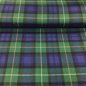 100% Pure Wool Plaid - Farquharson, Ancient