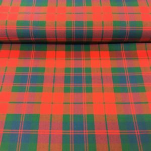 100% Pure Wool Plaid - Fraser, Stewart of Atholl