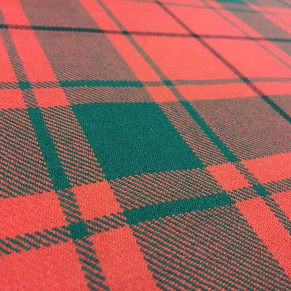 100% Pure Wool Plaid - MacDonald Lord Of Isles