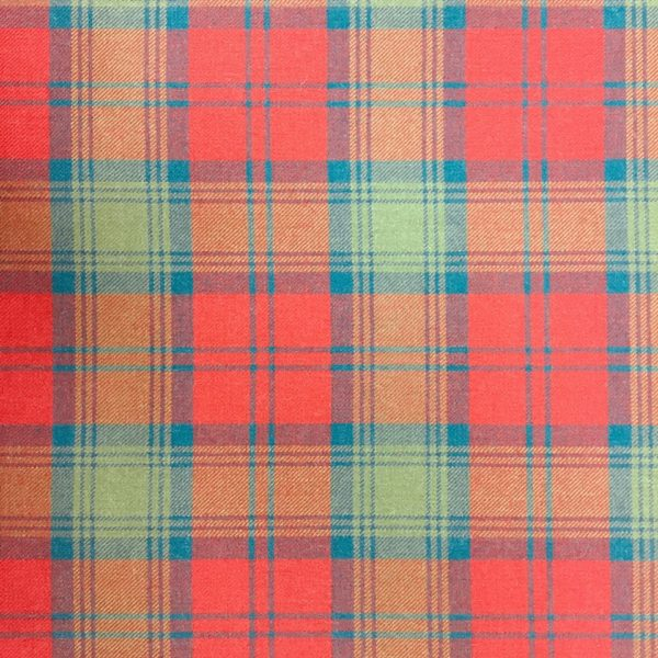 100% Pure Wool Plaid - Lindsay, Muted