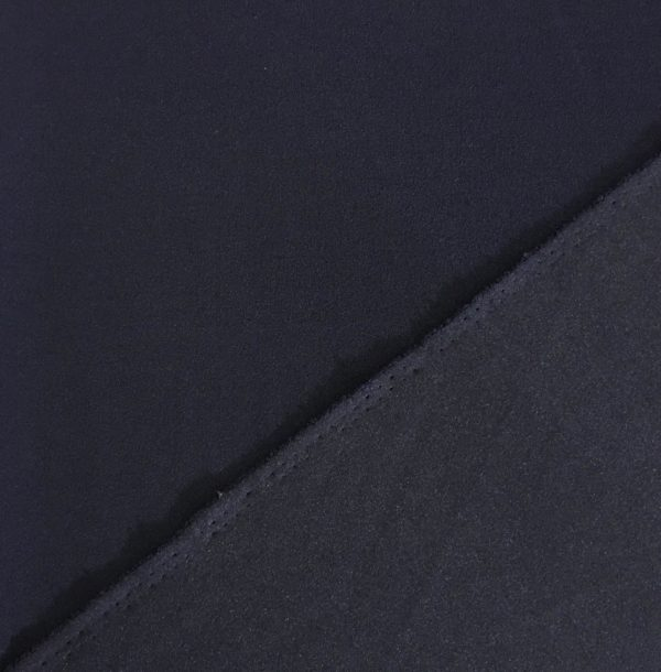 Scuba Crepe Stretch Jersey Knit - Navy