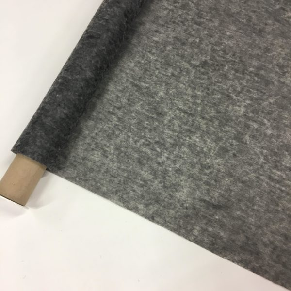 Iron-On Fusible Interfacing - LIGHT - Charcoal