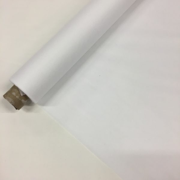 Iron-On Fusible Interfacing - LIGHT - White