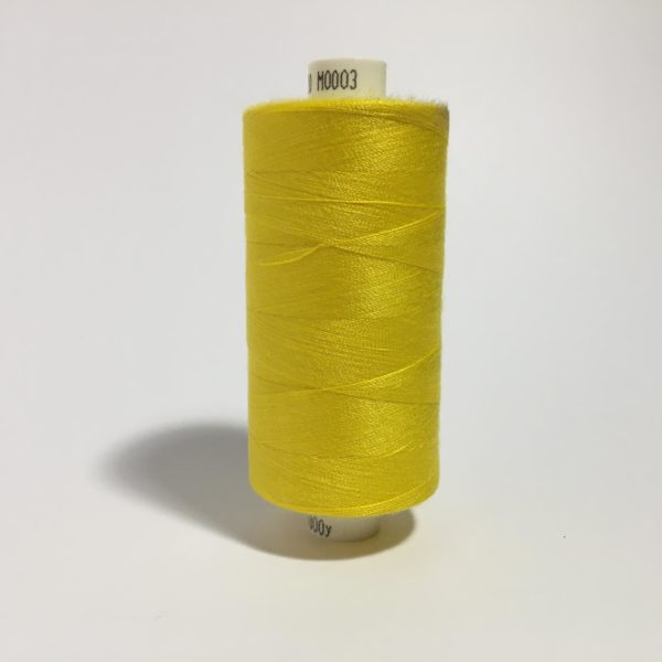 Moon Thread 1000yards - M0003 Bright Yellow