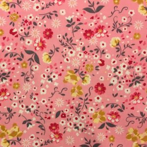 Rose & Hubble 100% Cotton Floral Print - Pink