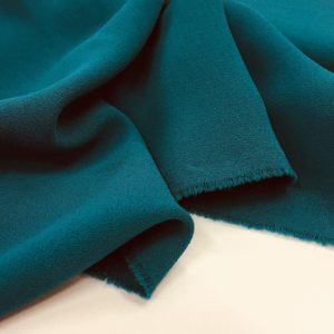 Heavy Triple Crepe Dress Fabric - Jade