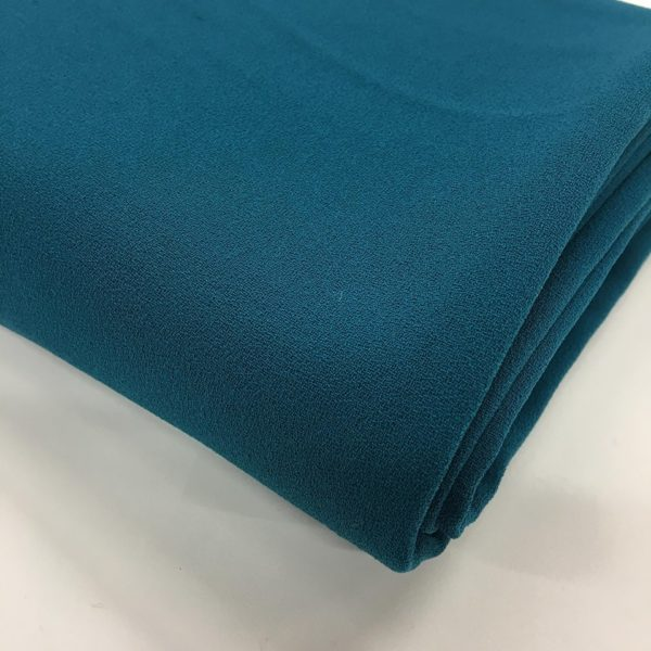 Heavy Triple Crepe Dress Fabric - Jade