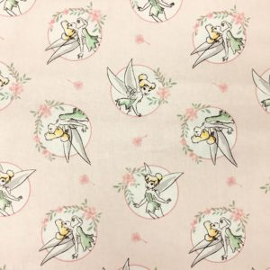 Disney 100% Cotton - Tinkerbell