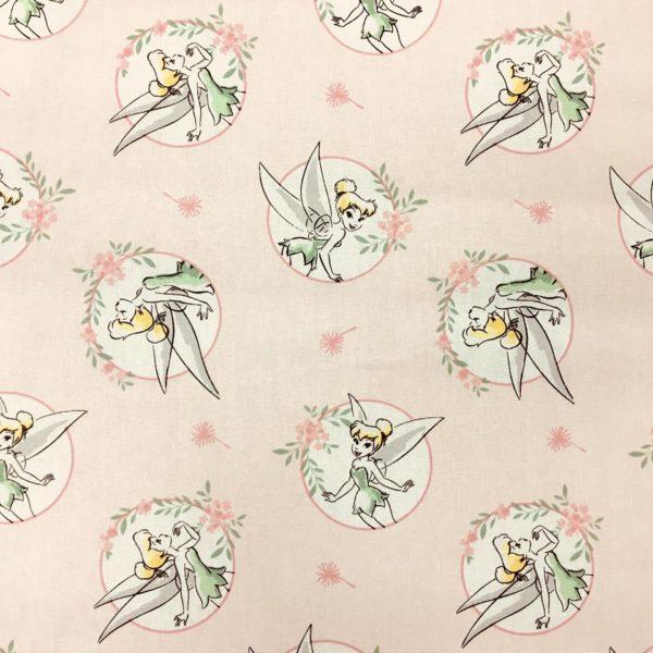 Disney 100% Cotton - Tinkerbell