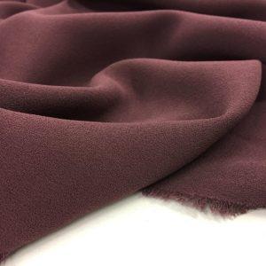 Heavy Triple Crepe Dress Fabric - Chestnut