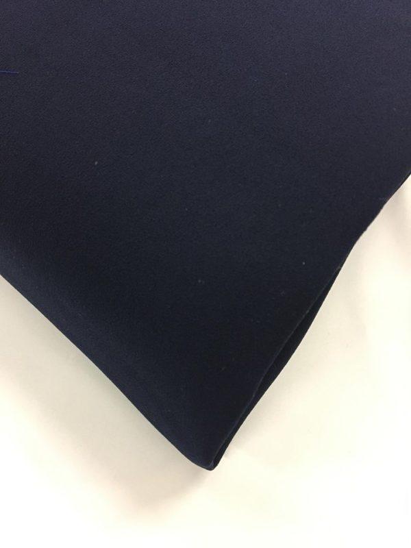Heavy Triple Crepe Dress Fabric - Navy