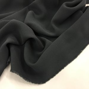 Heavy Triple Crepe Dress Fabric - Slate Grey