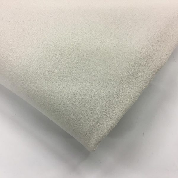 Heavy Triple Crepe Dress Fabric - Stone