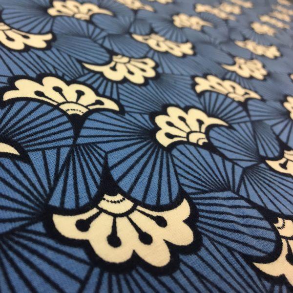 Stuart Hillard Kimono Jersey Range - Abstract Flower