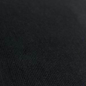 100% Cotton Babycord - Black