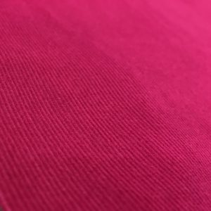 100% Cotton Babycord - Cerise