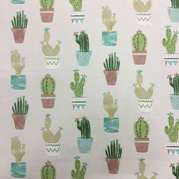 Fryetts Fabrics 100% Cotton Canvas - Cactus