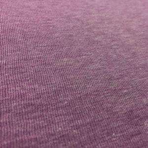 Fleece Back Sweatshirt Jersey - Lilac Melange
