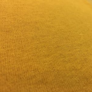 Fleece Back Sweatshirt Jersey - Mustard