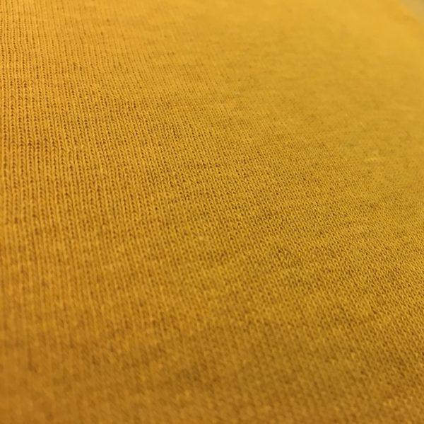 Fleece Back Sweatshirt Jersey - Mustard