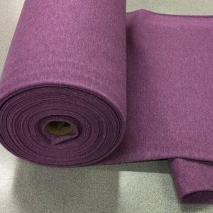 Tubular Jersey Rib/Cuffing - Lilac Melange