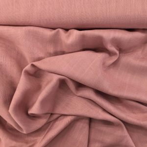 Lightweight Linen-look 100% Viscose - Rose