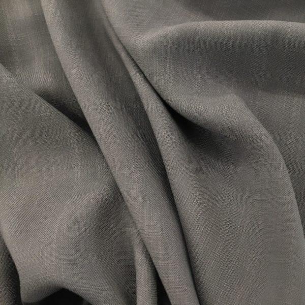 Lightweight Linen-look 100% Viscose - Grey