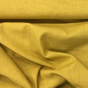Enzyme Washed 100% Linen - Gold