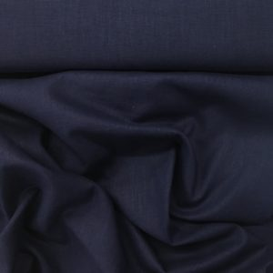 Enzyme Washed 100% Linen - French Navy