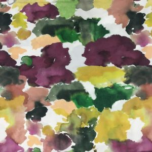 Lady McElroy 100% Cotton 'Marlie' Lawn - Clouds of Colour - Dawn