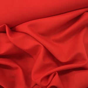Lady McElroy 'Saxon' Linen Viscose - Red