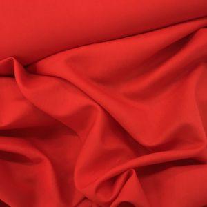 Lady McElroy 'Saxon' Linen Viscose - Red