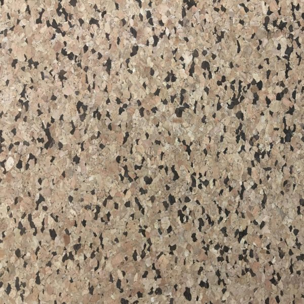 Cork Vinyl Fabric - Dark Flecks