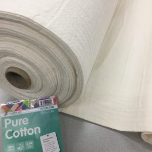 Matilda's Own 100% Pure Cotton Batting - 240cm Wide