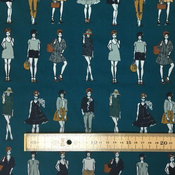 Lady McElroy 100% Cotton 'Marlie' Lawn - Modelling Fashion - Fern