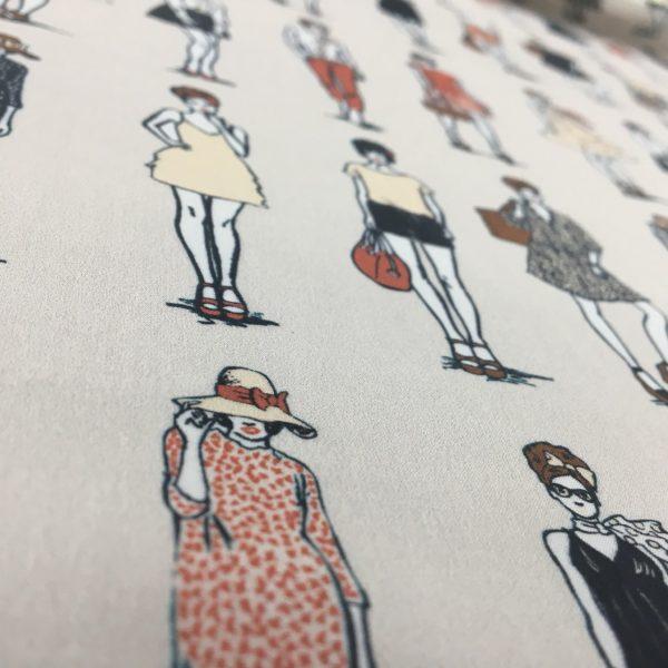 Lady McElroy 100% Cotton 'Marlie' Lawn - Modelling Fashion - Blush