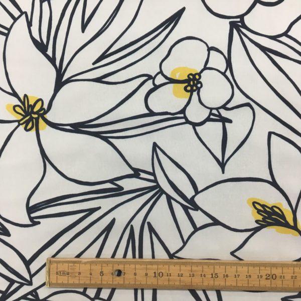 Lady McElroy 100% Cotton 'Marlie' Lawn - Pollen Pose
