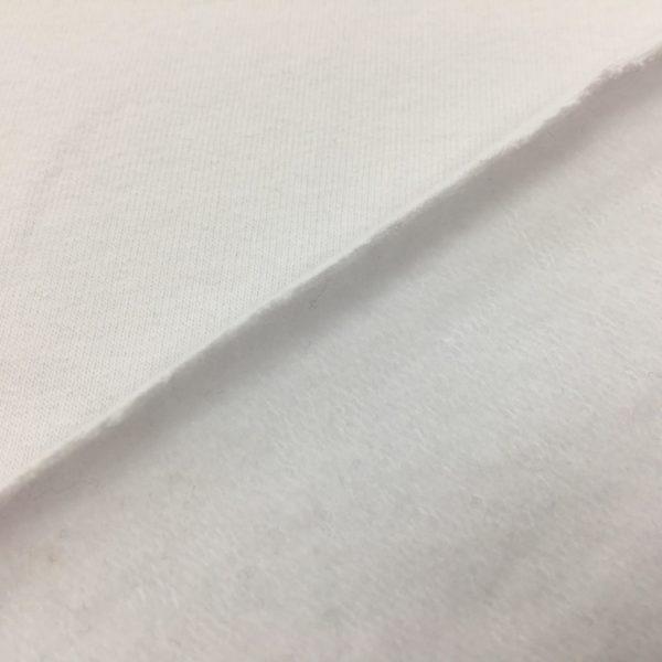 French Terry Sweatshirting - Plain White