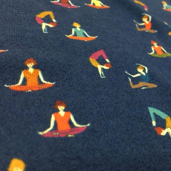 Lady McElroy Viscose Spandex 'Crepe' Jersey - Shantini Yoga