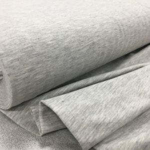 Stof of Denmark Avalana Jersey - Light Grey Melange