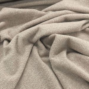 Super Soft Ribbed Stretch Knit Fabric - Champagne
