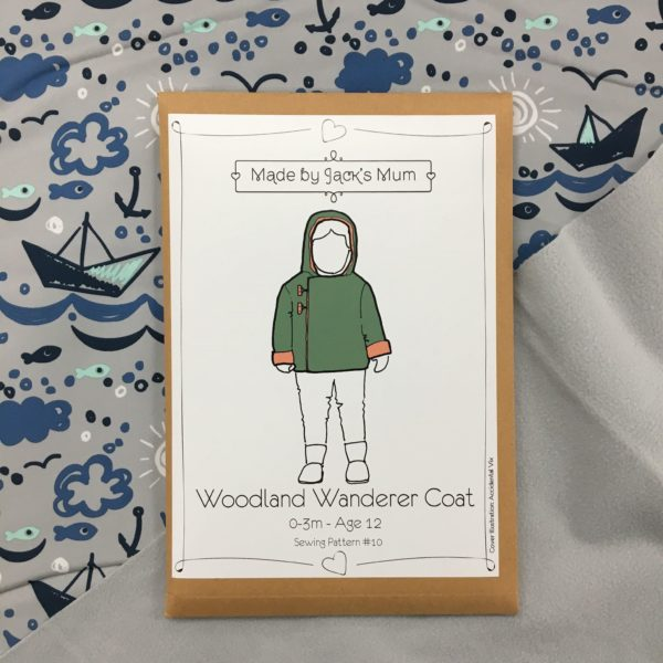 Made By Jack's Mum Woodland Wanderer Coat Sewing Pattern