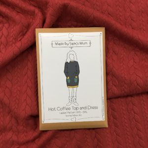 Made By Jack's Mum Hot Coffee Hoody and Dress Sewing Pattern (Ladies)