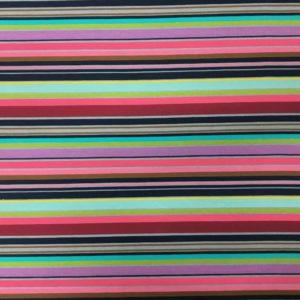 Stof of Denmark Avalana Jersey – Candy Stripes