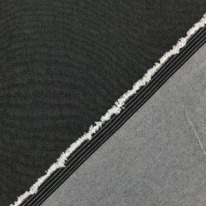 Lightweight Stretch Denim - Dark Grey
